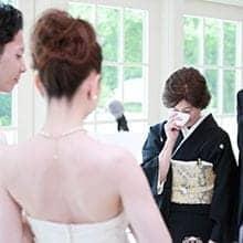 結婚式シーン